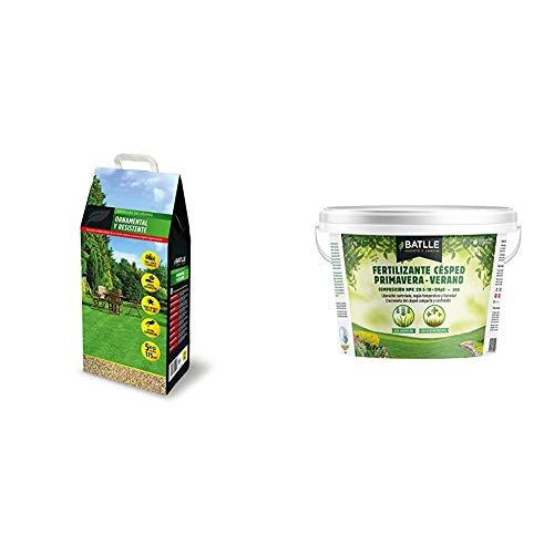 Semillas de Césped - Césped Ornamental y Resistente 5kg - Batlle +...