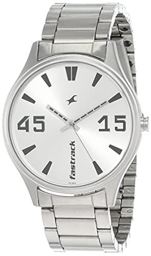Fastrack Analog Silver men Watch 3229SM03 / 3229SM03
