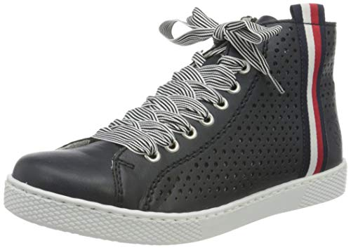 Rieker Damen Z1228 Sneaker, blau, 40 EU