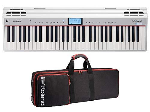 Roland ローランド - アレクサ内蔵 デジタルピアノ GO:PIANO with Alexa Built-in GO-61P-A + 純正キャリングケース CB-GO61 セット