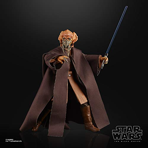 Black Series Star Wars The Plo Koon Toy 6' Scale The Clone Wars Collectible Action Figure