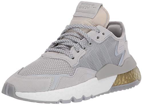 adidas Originals Men's NITE Jogger Sneaker, 13 M US Grey