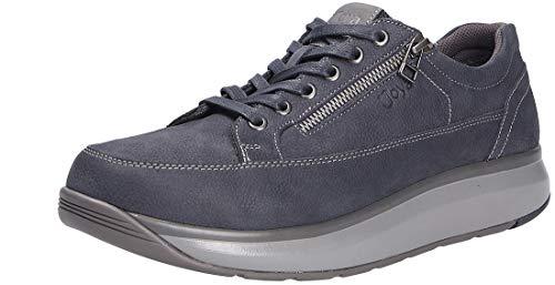 JOYA Bruno Dark Blue - Zapato de piel nobuck para hombre, color Azul, talla 43 2/3 EU Weit