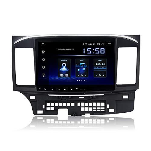 Dasaita Autoradio con schermo da 10,2' Android 9.0 per auto integrato Carplay per Mitsubishi Lancer EX 10 Galant 2007 – 2017 con GPS DSP 4G 64G supporto WiFi Dab+ Mirror-Link USB