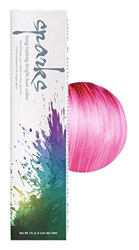 Sparks Bright Haircolor Pink Kiss 3oz (3 Pack)