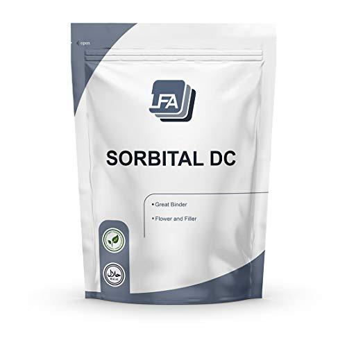 LFA Sorbitol DC Powder - Directly Compressible Tablet Sweetener & Binder for Great Tasting Mints, Gums & Chewables - 5kg (11 lbs)