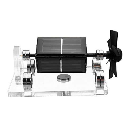 Feixunfan Stirlingmotor Solar Horizontal Vier Seite Stirlingmotor Bildung Modell Magnetic Levitation Mendocino Motor Physik Experimentierspielzeug (Color : Black, Size : One Size)