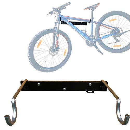 Vailantes® DOPP-2 Wandhalterung Für BMX-Fahrrad MTB Mountainbike Rennrad, Fahrräder - Wandhalter Für Die Garage Fahrradhalterung An Die Wand Fahrradhalter Bike-Halter Fahrradständer