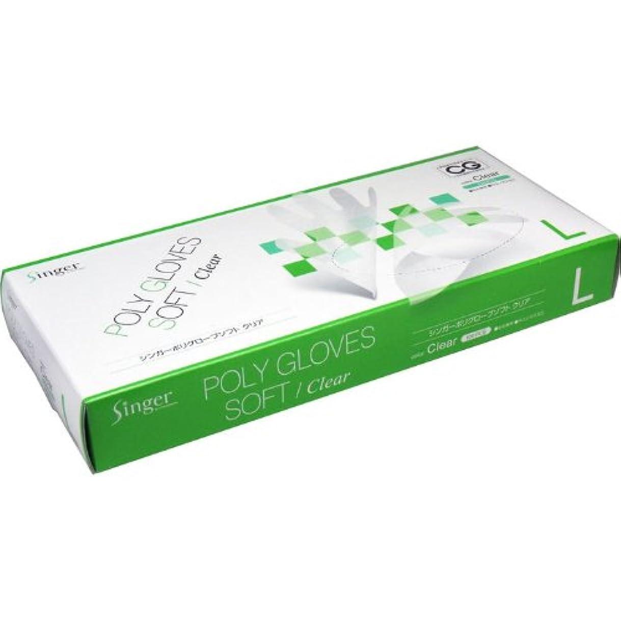 いつか液体悪質な食品衛生法適合商品 100枚入 ポリ手袋 Lサイズ