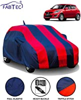 FABTEC Car Body Cover for Maruti Swift (2012-2017) with Mir