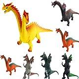 YeahiBaby Juguete de Dinosaurio de Dos Cabezas Modelo de...