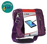Navitech Violet Hülle/Hülle/Tasche Kompatibel Mit Der Vtech Challenger Laptop