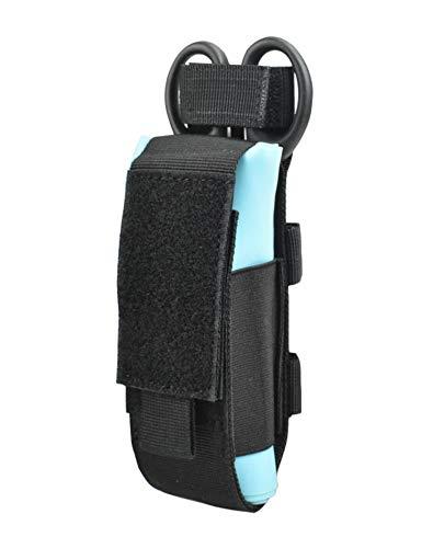 Jadedragon Tourniquet Holder Tactical Shear Pouch Tourniquet Pouch with Elastic Sides for CAT Combat Application (Black)