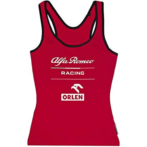 Alfa Romeo Racing F1 Women's Essential Tank Top (M, Red)