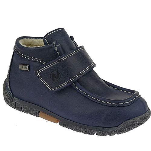 Naturino MUR Rainstep gefütterte Halbschuhe Boots wasserdicht Gr.23-29 blautöne EUR 27