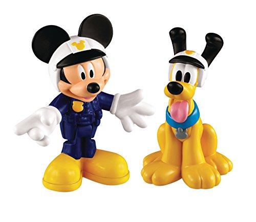 La Casa De Mickey Mouse - Moto de policía de Mickey (Mattel Y2297)
