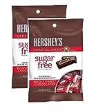 Sugar Free Hershey Special Dark Mildly Sweet Chocolates, 3 Oz (Pack of 2)