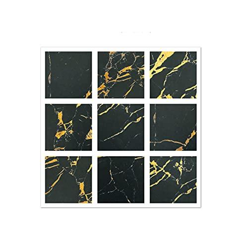 QOXEFPJZ cenefa adhesiva cocina 20 PCS Pegatinas de pared autoadhesiva de mosaico, estufa de cocina Etiquetas engomadas a prueba de aceite, mosaico de cristal pegatinas de pared decorativas -10 * 10cm