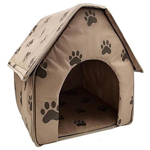 Casa de Perro Hermoso diseño Casa de Perro Plegable Pequeño Pie Mascota Cuna Tienda Cat Cat Dog Nest Travel