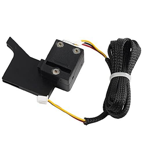 angelle Piezas de Impresora 3D Módulo de detección de filamento de 1 75 mm Detector Interruptor de Sensor Monitor de Pausa de Agotamiento para Creality CR-10 1Set Sensor de detección de filamento