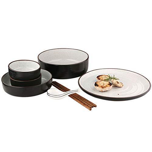 MSF Bestek Rekken Porselein Bowls, Bone China Bowl Set - 9-delig Dinnerware, Gerenommeerde Chinese Keramische Servies, Party Snack of Salade Bowl Serveerschalen, Soep/Cereal/Rijst/Dessert Bowls, Beste Service f