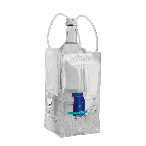 Ice.Bag Mini-Clear Flaschenkühler transparent 6-Stück Set