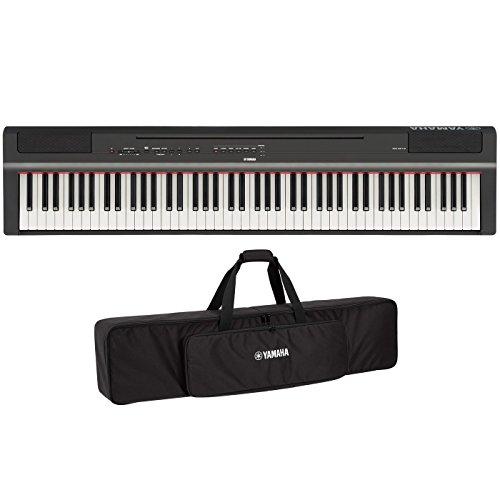 Yamaha P125B Piano digital de acción ponderada de 88...