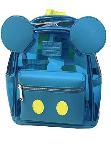 Mickey Mouse Neon See-Through Mini Backpack - Walt Disney World