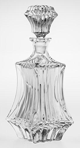 Bohemia Jihlava, bottiglia decanter, Prague, per whisky, cognak, 0,8 litri