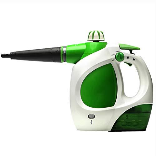 Aiyoudemutou Dampfgarer for Reinigung, Multi-Purpose-große Kapazität Hand Pressurized Dampfreiniger mit 11-teiliges Zubehör for Entfernen von Flecken, Teppiche, Vorhänge, Bettwanzen-Steuerung, Autosit