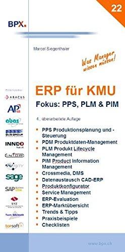 ERP für KMU. Fokus: PPS, PLM & PIM