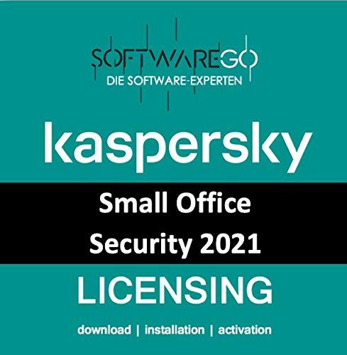 Preisvergleich Produktbild Kaspersky Small Office Security 8 / 2021 / Vollversion (Update & Standart) / 20 Geräte / 1 Server / 1 Jahr / Win / Server / Mac / Android / Lizenz per E-Mail (i. d. R. in 24 Std.) / by softwareGO