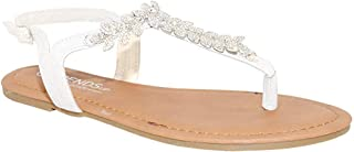 Best white sparkly sandals Reviews