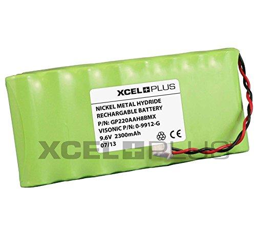 Visonic 1800 mAh PowerMax Pro V 9,6 Panel de alarma para batería para 0-9912-G
