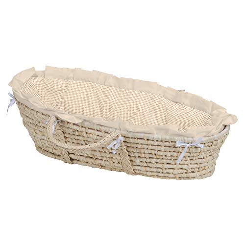 Badger Basket Company Natural Baby Moses Panier