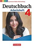 Deutschbuch 04: 8. Schuljahr. Arbeitsheft mit Lösungen. Gymnasium Baden-Württemberg