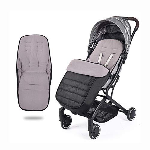 KTTR Kinderwagen-Schlafsack Universeller Kinderwagen-Bunting-Bag für Buggy, Kinderwagensitz, wasserdicht, Winddicht,A