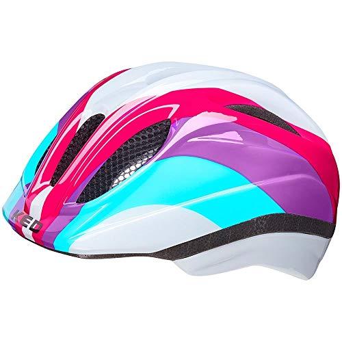 KED Helmet Meggy II Trend Fahrradhelm/E-Bike/Mountainbike/MTB/Jugendliche, Unisex, Rainbow Rave, S 46-51 cm
