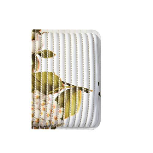 Tappetino da bagno antiscivolo per vasca da bagno, materiale in schiuma PVC con ventosa, motivo rosa