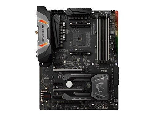 MSI X470 GAMING M7 AC, AM4, 4 Dimm DDR4-3600MHz(OC), 2x Turbo M.2, DDR4 Boost mit Steel Armor, Audio/Core/X-Boost, ATX