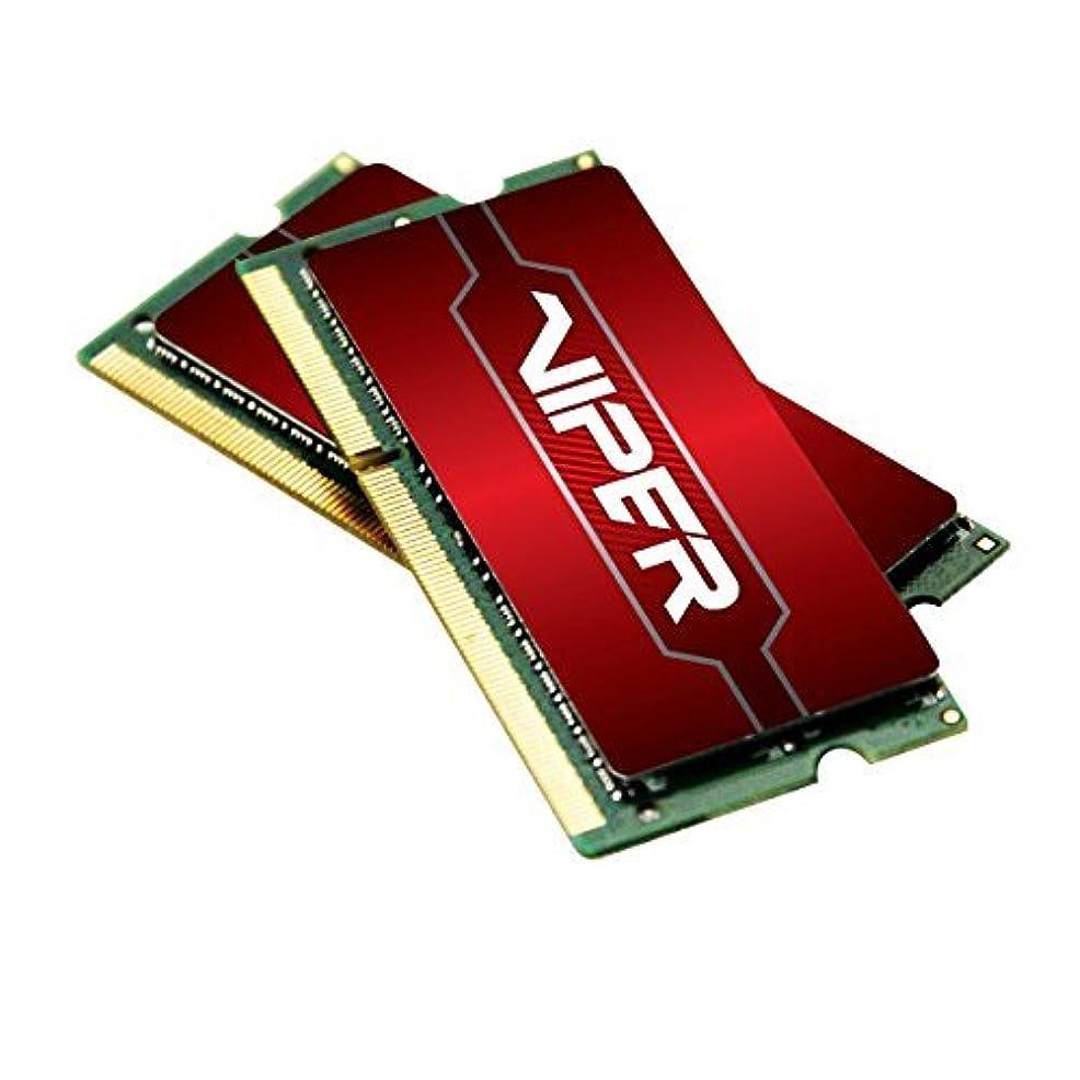 サミット膨らませるキャンベラPatriot Memory Viper 4 Series DDR4 16GB (2 X 8GB) 2400MHz SODIMM Kit 16 DDR4 2400 MT/s (PC4-19200) DRAM (PV416G240C5SK) [並行輸入品]