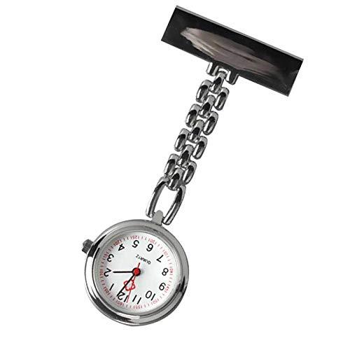 Valigrate - Reloj de Bolsillo de Cuarzo con Cadena
