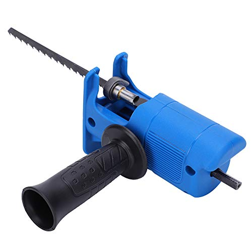 Electric Reciprocating Saw ABS+High Speeding Steel Jig Saw Electric Drill Tool Attachment for Wood Metal Cutting