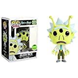 Jokoy Funko Pop Animation : Rick and Morty - Alien Rick (2018 Exclusive) 3.75inch Vinyl Gift for Anime Chibi