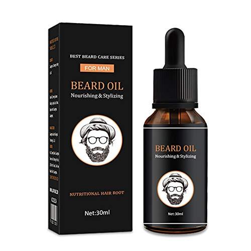Aesyorg 30 ml feuchtigkeitsspendendes Bartöl im Gesicht, um das Haar zu erweichen und die Bartpflegeprodukte für Männer zu pflegen, um Haarausfall vorzubeugen