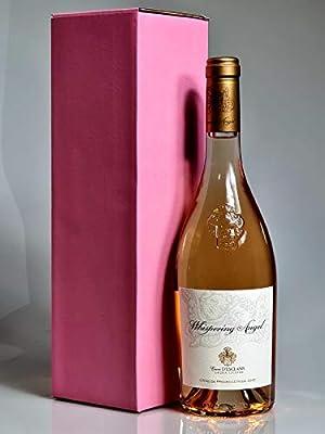 Whispering Angel Award Winning Rosé Wine present - ONE Gift Wrapped Bottle 750ml