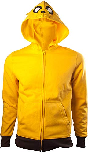 Bioworld Adventure Time Hooded Sweater Jake Size M