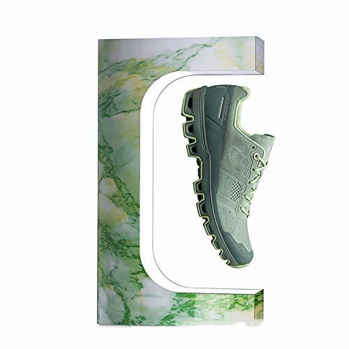 MKULOUS Girar Expositor De Zapatos De Levitante Magnético Flotante De Moda Y Exhibición De Zapatos para Exposiciones Escaparates
