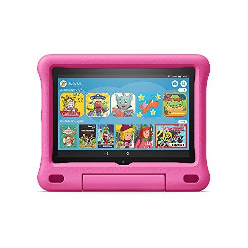 Fire HD 8 Kids-Tablet | Ab dem Vorschulalter | 8-Zoll-HD-Bildschirm, 32 GB, pinke kindgerechte Hülle