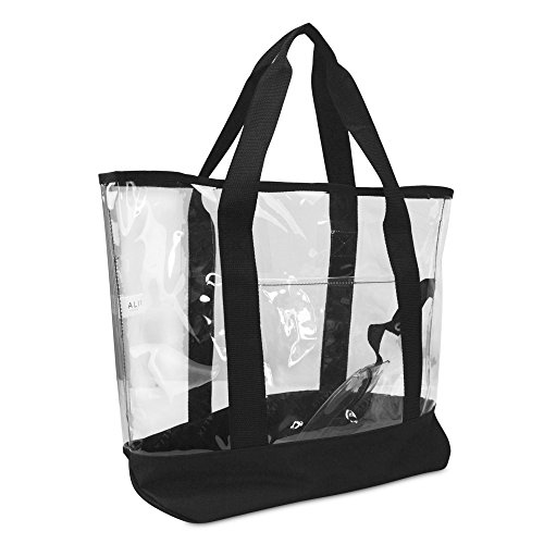 20' Large Clear Tote Bag with Small Pouch